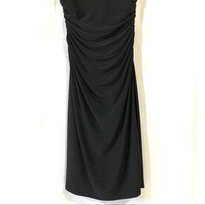 Lauren Ralph Lauren Dresses - Lauren Ralph Lauren Ruched Little Black Dress